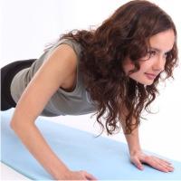 упражнения, плоский живот